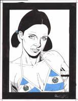 Lina in El Salvadorian Bikini by Knifley