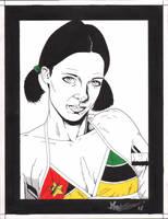 Lina in Mozambiqe  Bikini by Knifley
