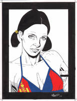 Lina In Mongolian Bikini by Knifley