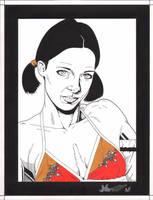 Lina in Bhutanese Bikini by Knifley