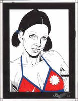 Lina in Nepali Bikini by Knifley