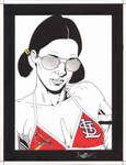 Lina in St. Louis Cardinals Bikini by Knifley