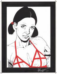 Lina in English Bikini by Knifley
