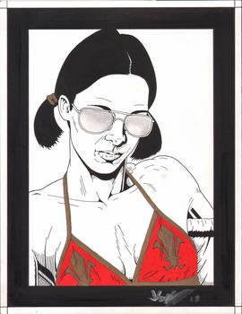 Lina in Azrael Bikini