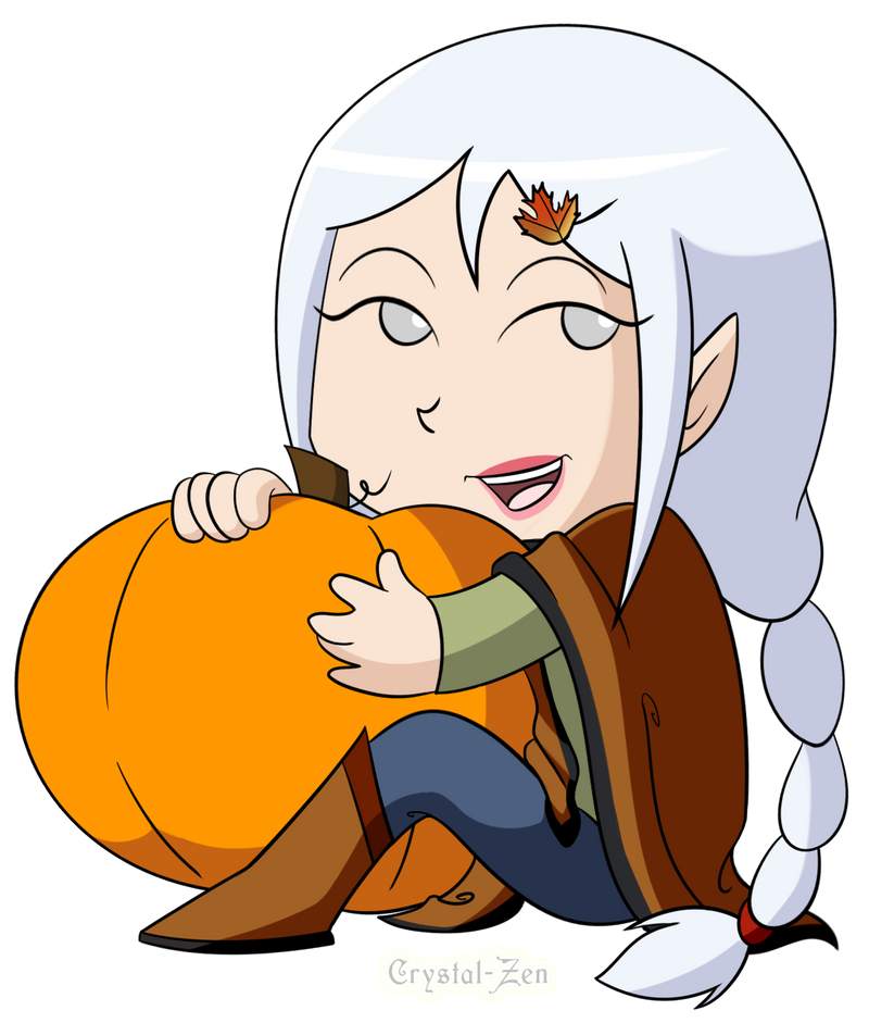 Ych fall pumpkin crystal by crystal zen on deviantart for Crystal fall