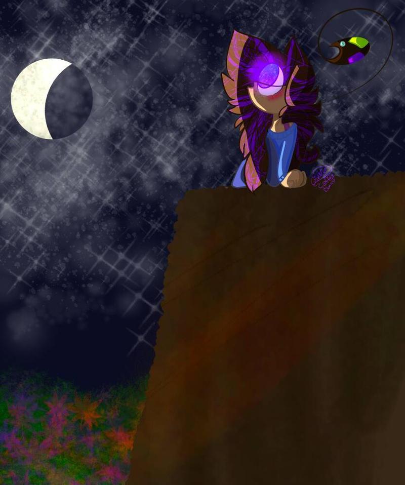 Beautiful night, isn't it.....?~ by ask-syco