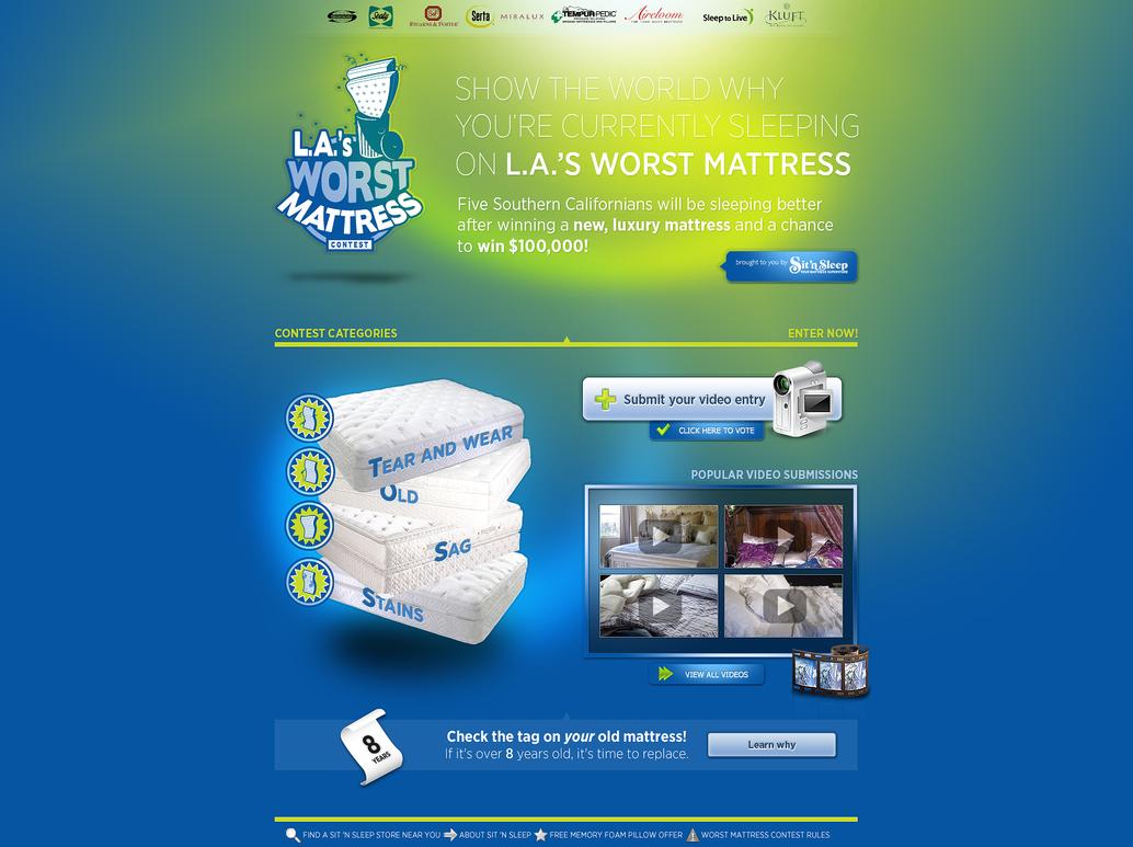 Mattress Contest Template By Amplifiedshock On DeviantArt - Photo contest website template