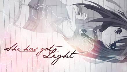 She has got light by Letsdosomeprankz