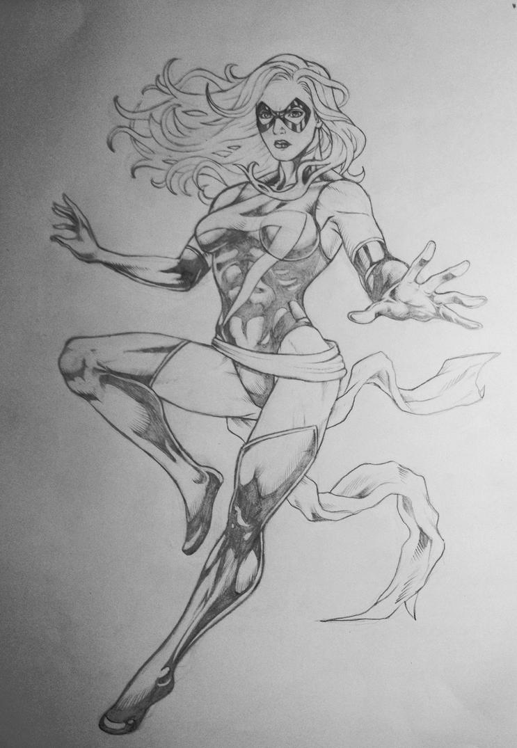 Ms Marvel by cristianosuguitani