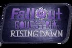 Fallout: Equestria Rising Dawn Logo (V2)