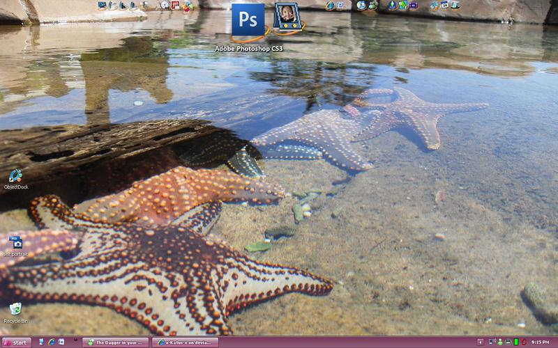 New Desktop of 09 by x-Katus-x