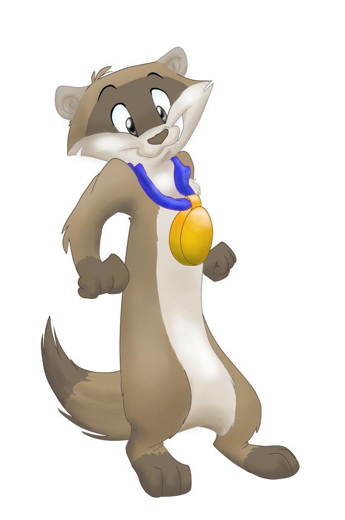 Hubble the heroic ferret