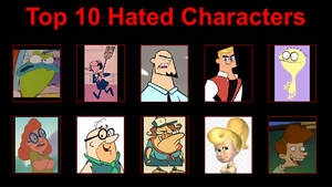 Non-Villain Characters I Hate from Shows I Like