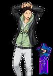 Iwaizumi Hajime - Render #218