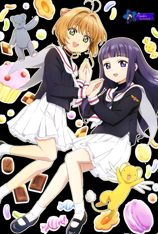 Render #265- Sakura y Tomoyo by fania98 on DeviantArt