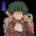 Midoriya Izuku- Render #372