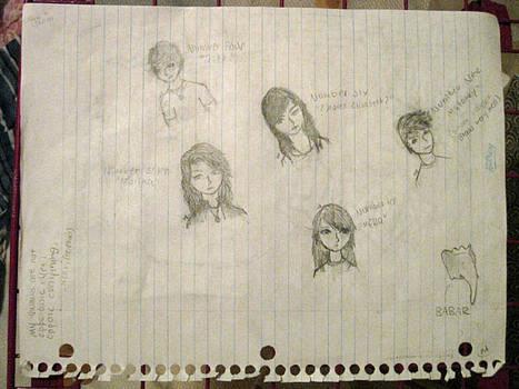 Lorien Legacies- Drawings