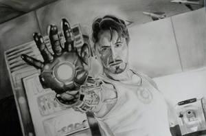Tony Stark by tofu0004