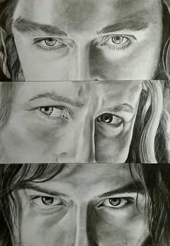 Heirs of Durin - Thorin, Fili and Kili