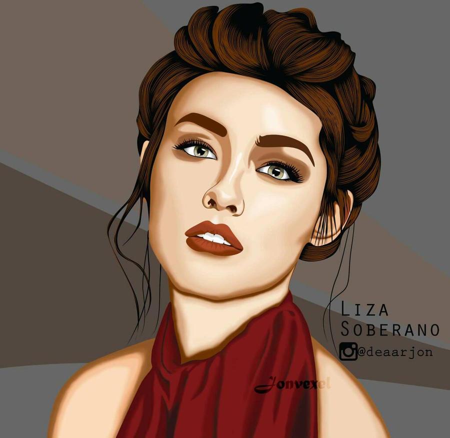 Liza Soberano by Jonvexel