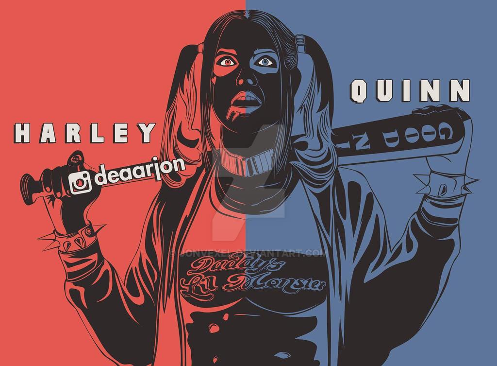 Harley Quinn  by Jonvexel