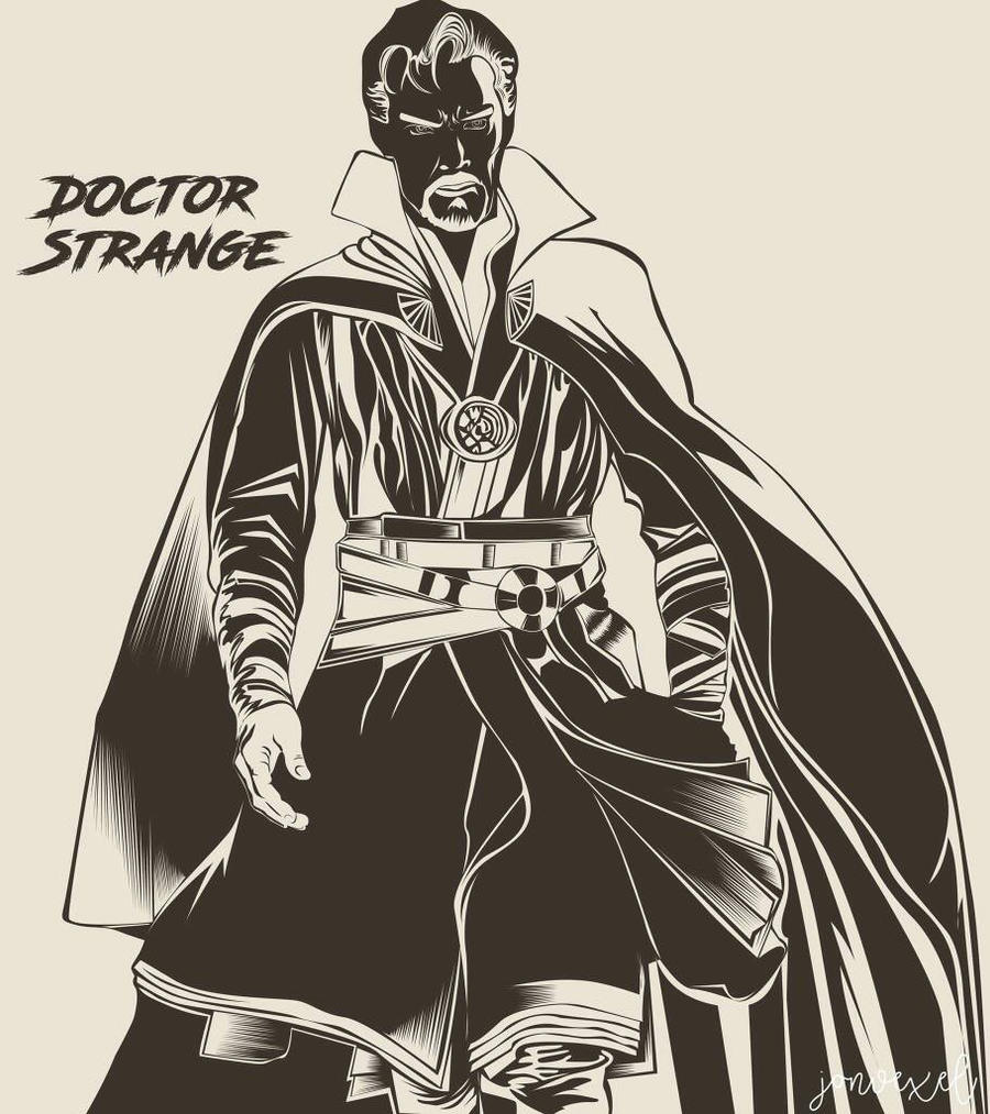Doctor Strange by Jonvexel