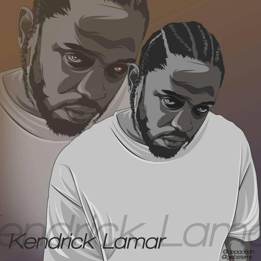 Kendrick Lamar by Jonvexel