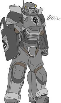 T.F.F Riot Power Armor