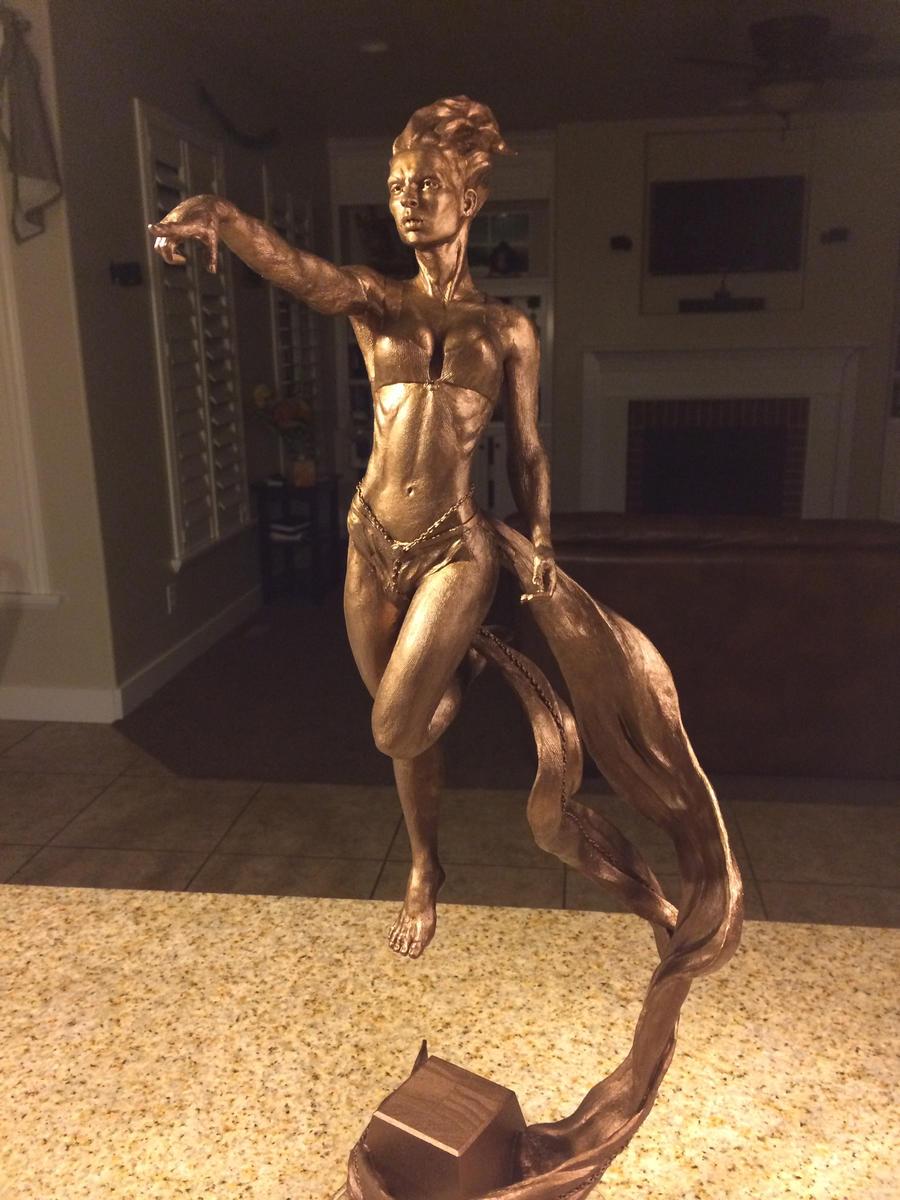 Sorceress Bronze Coating 2 by ddorrity