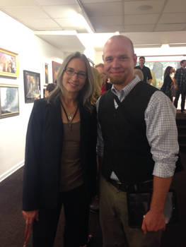 Julie Bell, Devon Dorrity in NYC