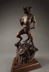 Harbinger Finished Bronze Sculpture