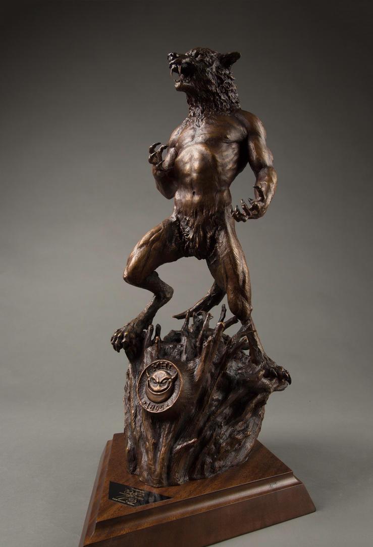 Harbinger Finished Bronze Sculpture by ddorrity