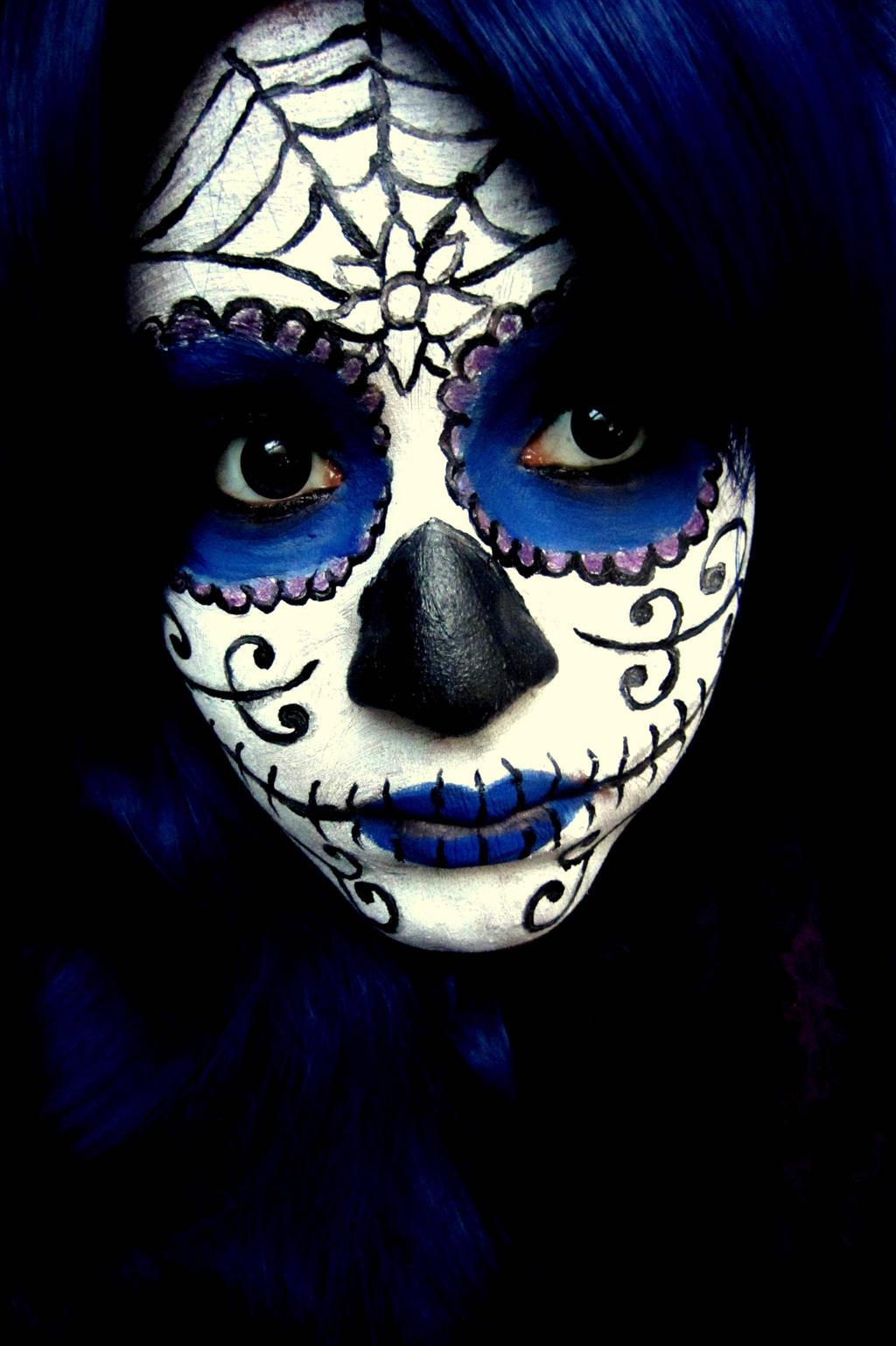 Guy Sugar Skull Makeup - Mugeek Vidalondon