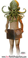 The Eponymous Naked Dude who will Read Lovecraft