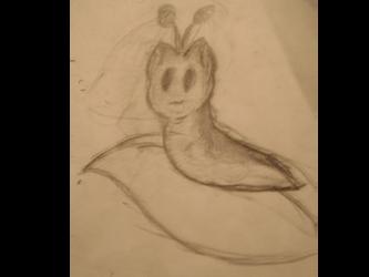 Cat Slug thing... by LynxiShakes