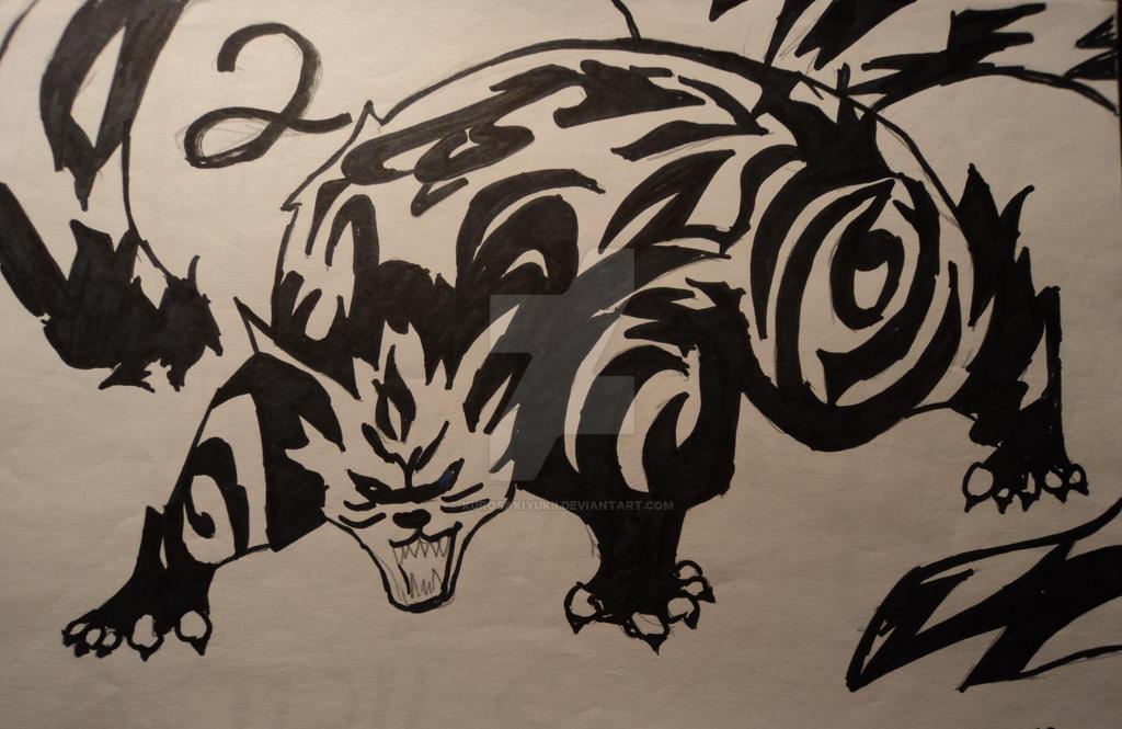 Two Tailed Beast Matatabi