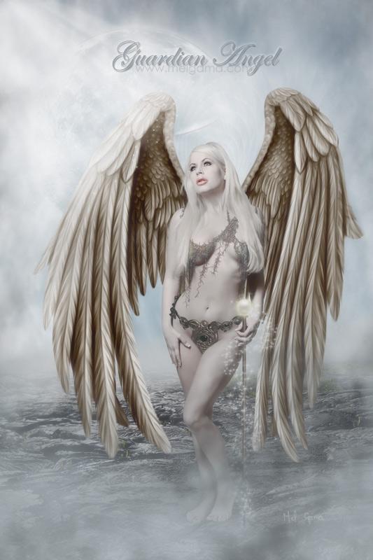 Guardian Angel by MelGama