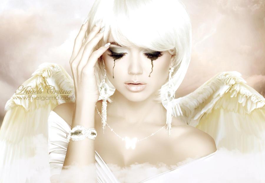 Angels Crying by MelGama