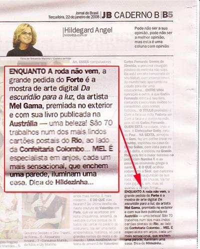 Jornal do Brasil 2008 by MelGama