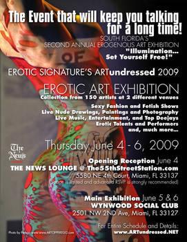 Artundressed Miami 2009