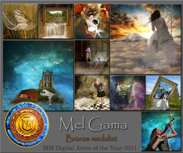 Model Mayhem 2011 Bronze by MelGama