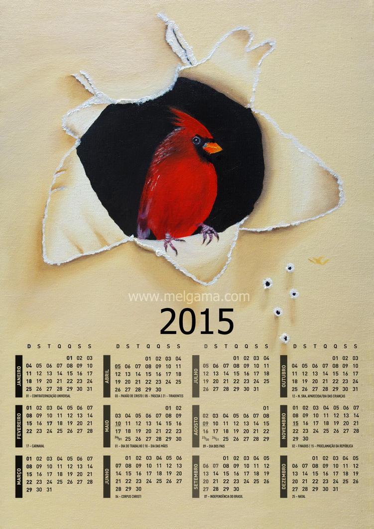 Calendario 2015 by MelGama