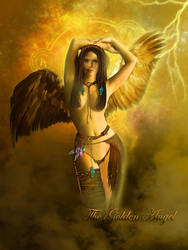 The Golden Angel by MelGama