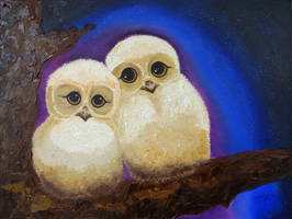 The Owls by MelGama