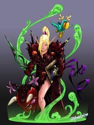 Eviisha colors by zionson