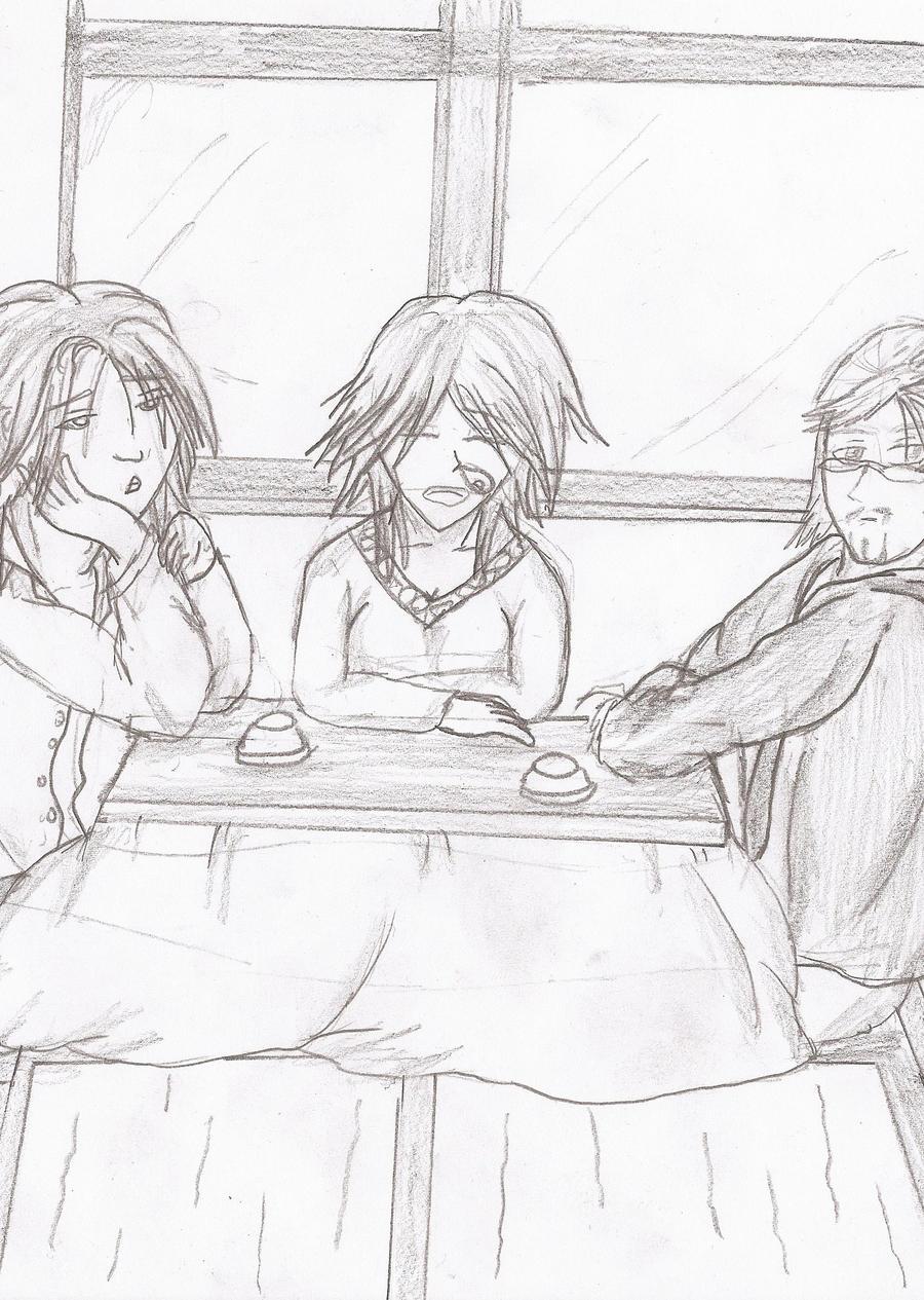 Manga Guys with Kotatsu by