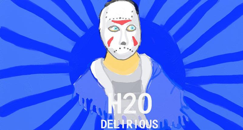 H2O Delirioius by sasunaru-  H2o Delirious Logo