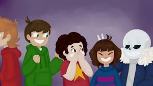 Just Let Them Be Happy by smellslikebadart