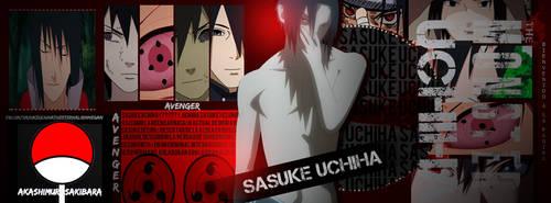 Sasuke uchiha by AKASHIMURASAKIBARA