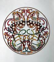 Celtic Deer by CelticArt
